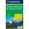 WK 09 - Kufstein - Walchsee - St. Johann i. Tirol turistatérkép - KOMPASS