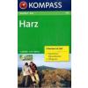 WK 450 - Harz (2-K-Set m. NF) turistatérkép - KOMPASS