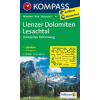 WK 47 - Lienzer Dolomiten - Lesachtal turistatérkép - KOMPASS