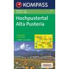 WK 635 - Hoch-Pustertal / Alta Pusteria turistatérkép - KOMPASS