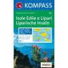 WK 693 - Isole Eólie o Lípari turistatérkép - KOMPASS
