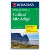 WK 699 - Südtirol (4-tlg. Karten-Set) turistatérkép - KOMPASS