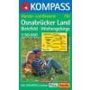 WK 750 - Osnabrücker Land turistatérkép - KOMPASS