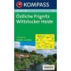 WK 861 - Östliche Prignitz-Wittstocker Heide turistatérkép - KOMPASS