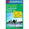 WK 878 - Freudenstadt - Baiersbronn turistatérkép - KOMPASS