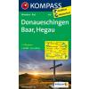 WK 895 - Donaueschingen - Baar - Hegau turistatérkép - KOMPASS