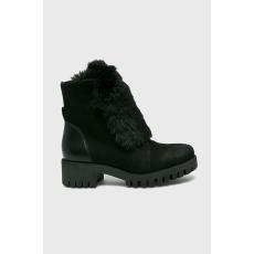 Wojas - Magasszárú cipő - fekete - 1414034-fekete