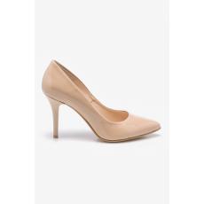 Wojas - Tűsarkú cipő 442134 - bézs - 1210302-bézs