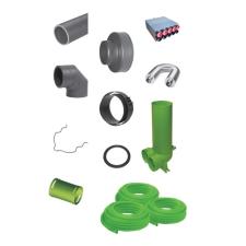 wolf CWL légtechnikai rendszerelem csomag hűtés, fűtés szerelvény