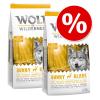 Wolf of Wilderness gazdaságos csomag 2 x 12 kg - Junior Green Fields - bárány