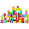 Woody pasztell kocka betűkkel és számokkal