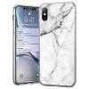 Wozinsky Marble TPU tok Xiaomi redmi 10X 4G / Xiaomi redmi Note 9 fehér telefontok