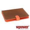 """WPOWER 8"""" Billentyûzetes Tablet tok, mintás, narancs, EN-HU"""