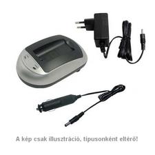 WPOWER Panasonic DMW-BCC12, DMW-BCE10 akku töltő panasonic videókamera akkumulátor