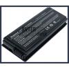 X50SR 4400 mAh 6 cella fekete notebook/laptop akku/akkumulátor utángyártott