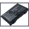 X70ID 4400 mAh 6 cella fekete notebook/laptop akku/akkumulátor utángyártott
