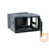 X-Tech - 18U fali rackszekrény 600X600 kétrészes