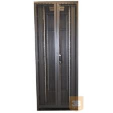 X-Tech - perforált ajtó 42U szerver rack szekrényhez szerver