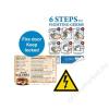 Xerox Etikett, lézernyomtatókhoz, A4, műanyag, kültéri, XEROX Nevertear, fehér, 50 etikett/csomag (LX90516)