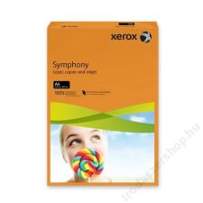 Xerox Másolópapír, színes, A4, 80 g, XEROX Symphony, narancs (intenzív) (LX93953) fénymásolópapír