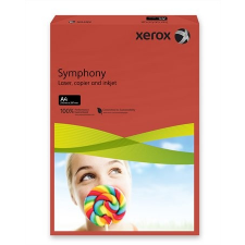 """Xerox Másolópapír, színes, A4, 80 g, XEROX """"Symphony"""", sötétpiros (intenzív) fénymásolópapír"""