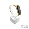 Xiaomi Mi Band 3 4 szilikon szíj - Emoji mintás