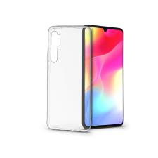 Xiaomi Mi Note 10 Lite szilikon hátlap - Soft Clear - transparent tok és táska