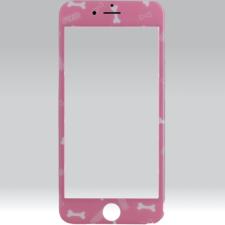 xPRO Puzoo tempered glass 0.33 full 3d pink kijelzővédő Apple Iphone 6 Plus / S Plus készülékhez mobiltelefon kellék
