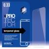 xPRO védőüveg, kijelzővédő üveg, üvegfólia, edzett üveglap – 0.33mm Samsung S4 Mini (i9190) készülékhez