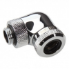 XSPC G1/4 - 14mm HardTube - 90 fokos Chrome (5060175589491)