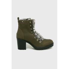 XTI - Magasszárú cipő - katonai - 1449535-katonai