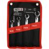 Yato Fékcsőkulcs készlet 4 részes, hajlított YATO - YT-0143