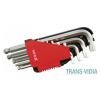 Yato YATO 10 részes imbuszkulcs készlet (2-12 mm) CrV