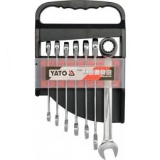 Yato YT-0208 Racsnis csillag-villás kulcs készlet 7 db-os villáskulcs