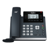 "Yealink SIP-T42S Yealink SIP-T42S - VoIP phone 2.7"" LCD, 192 x 64, T4S, USB 2.0, 12 SIP, 12 VoIP, PoE, 2x RJ-45, 2x RJ-9, RJ-12"
