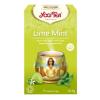 Yogi tea Yogi Bio Lime-menta tea, LIME MINT, 17 filter