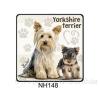 Yorkshire Terrier kutyás hűtőmágnes
