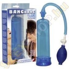 YOU2TOYS Bang Bang erekciópumpa - kék szexpumpák, szívók