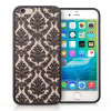 YouSave Accessories iPhone 7/8 TPU Hard Case - Damask Black