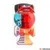 YoYoFactory Catchy Belt Clip, áttetsző piros