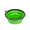 Yummie Összenyomható etetőtál - habzsolásgátlóval - zöld - 1000 ml (60008GR)