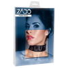 ZADO - bőr nyakörv SLUT felirattal