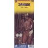 Zambia térkép - ITM