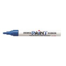 "Zebra Lakkmarker, 3 mm, ZEBRA ""Paint marker"", kék filctoll, marker"