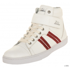 Zeha Sneakers Sneaker High Cut White/Red 902.01