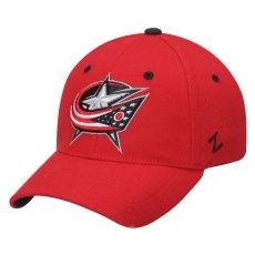 Zephyr Columbus Blue Jackets baseball sapka Zephyr Breakaway Flex Red - XL