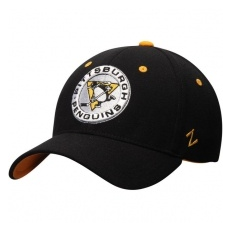 Zephyr Pittsburgh Penguins baseball sapka Zephyr Breakaway Flex Alternate Logo Black - S