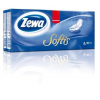 """ZEWA Papír zsebkendő, 4 rétegű, 10x10 db, ZEWA """"Softis"""", classic"""