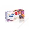 ZEWA Papír zsebkendő, dobozos, 4 rétegű, 80 db, ZEWA Softis levedula-narancs