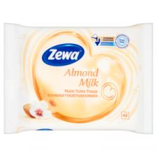 ZEWA Zewa nedves toalettpapír 42 db Almond milk higiéniai papíráru